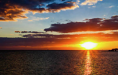 Photograph - Key West Sunset 32 by Bob Slitzan