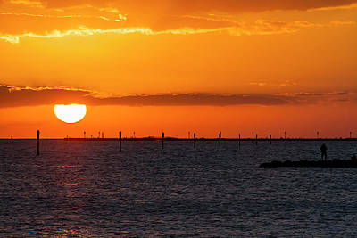 Photograph - Key West Sunset 33 by Bob Slitzan