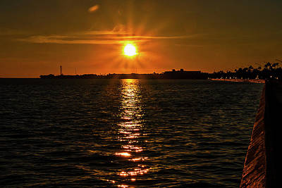 Photograph - Key West Sunset 34 by Bob Slitzan