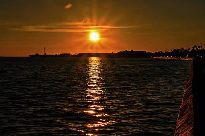 Photograph - Key West Sunset 34 by Bob Slitzan