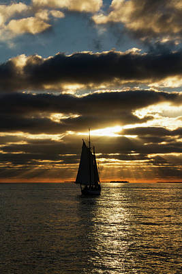 Photograph - Key West Sunset 35 by Bob Slitzan