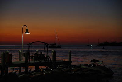 Photograph - Key West Sunset by Greg Graham