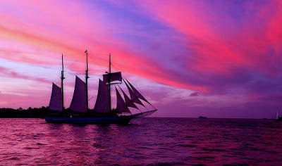 Photograph - Key West Sunset Sail by Jung Ryeol Lee