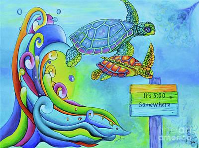 Key West Turtles Play Original