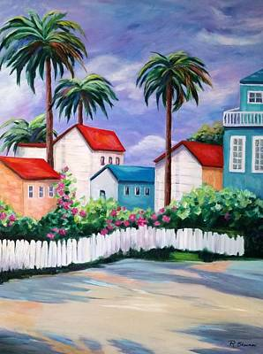 Painting - Key Westish by Rosie Sherman