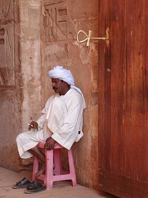 Photograph - Keymaster Of Abu Simbel by Richard Deurer