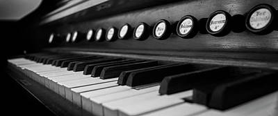 Photograph - Keys And Knobs In Black And White by Greg Mimbs