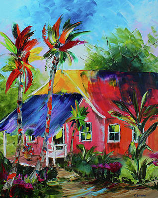 Painting - Keys Cottage by Kevin Brown