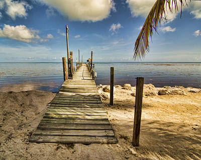 Photograph - Keys Dock by Don Durfee