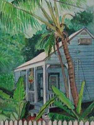 Painting - Keys House by Mary Hollinger