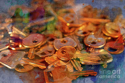 Photograph - Keys by Judi Bagwell