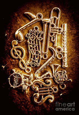 Rusted Metal Wall Art - Photograph - Keys Of A Symphonic Orchestra by Jorgo Photography - Wall Art Gallery