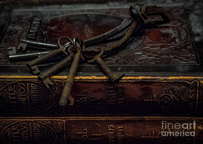 Photograph - Keys To History by James Aiken