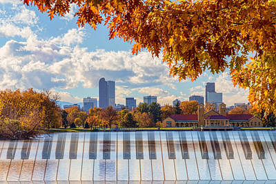 Photograph - Keys To The City Of Denver by James BO Insogna