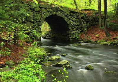 Quabbin Reservoir Photograph - Keystone Bridge Quabbin Reservoir by John Burk
