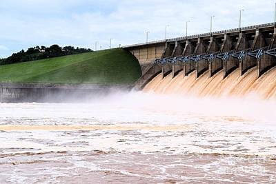 Photograph - Keystone Dam Opens The Floodgates by Janette Boyd