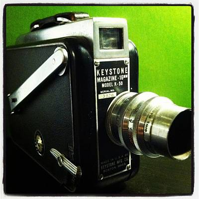 Aperture Photograph - Keystone K50 by Gabe Arroyo