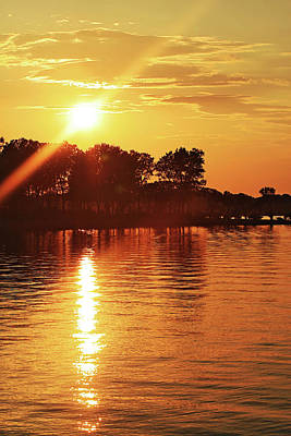 Photograph - Keystone Sunset by CE Haynes
