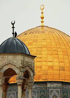Photograph - Khader Dome by Munir Alawi