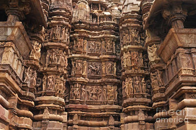 Painting - Khajuraho Temples 2 by Anil Sharma