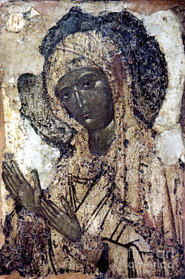 Russian Icon Photograph - Khalkopratiyskaya Virgin by Granger