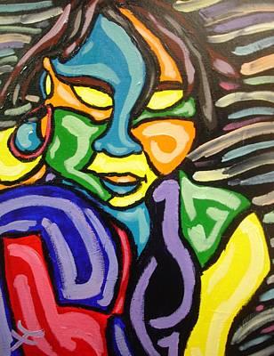 Fleurant Painting - Khamaileons Infusion by Jason JaFleu Fleurant