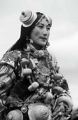 Photograph - Khampa Princess - Kham Tibet by Craig Lovell