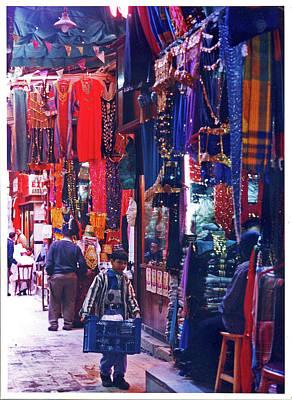 Photograph - Khan El Khalili Market by Elizabeth Hoskinson