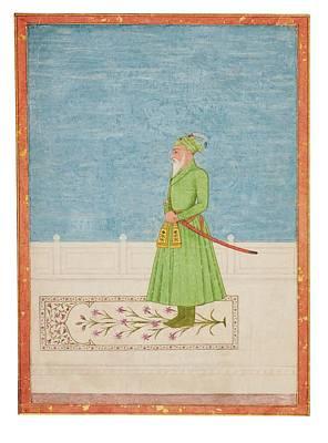 Mughal Painting - Khan Jahan Bahadur by Eastern Accent