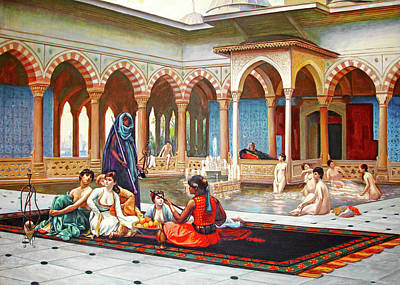 Painting - Khanito Harem by Munir Alawi