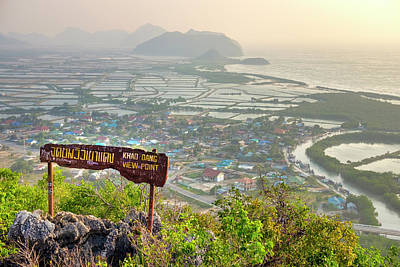 Photograph - Khao Dang Viewpoint by Fabrizio Troiani
