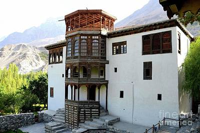 Photograph - Khaplu Palace Fort Serena Hotel And Museum In Gilgit- Baltistan Northern Pakistan  by Imran Ahmed