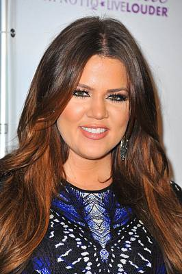 In Attendance Photograph - Khloe Kardashian In Attendance by Everett