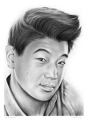 Ki Hong Lee Art Print by Greg Joens