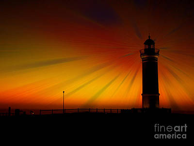 Photograph - Kiama Lighthouse by Trena Mara