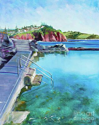 Painting - Kiama Rockpool by Kathy  Karas