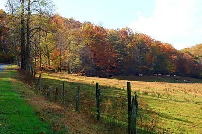 Photograph - Kibler Valley Farm Field by Kathryn Meyer