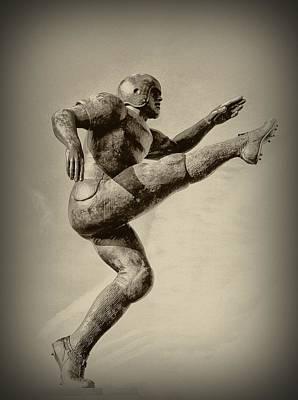 Kicking Digital Art - Kick Off by Bill Cannon