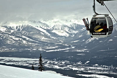 Photograph - Kicking Horse Gondola by Adam Jewell