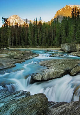 Photograph - Kicking Horse River by Tasty Mountain Goodness