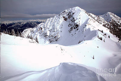 Photograph - Kicking Horse Terminator Peak by Adam Jewell