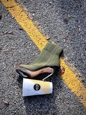 Photograph - Kicking The Habit by Cornelia DeDona
