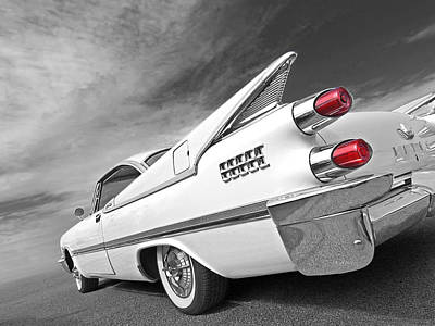 Photograph - Kicking Up A Storm - 1959 Dodge Custom Royal Lancer by Gill Billington