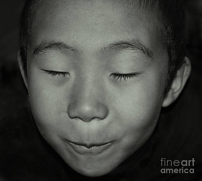 Photograph - Kid From Beijing  by Alexandra Jordankova