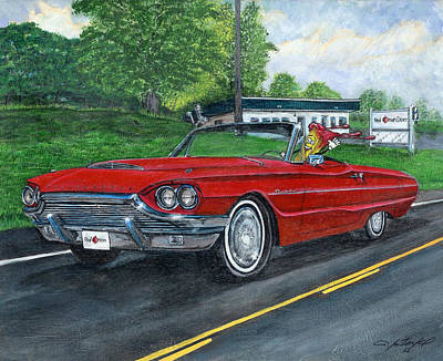 Low Rider Painting - Kid Ketchup by Jason McKeel