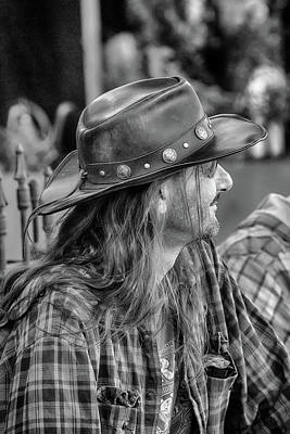 Photograph - Kid Rock Doppelganger by John Haldane