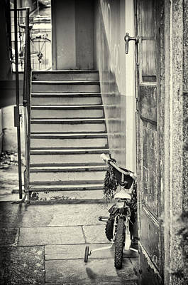 Photograph - Kid's Bike by Silvia Ganora