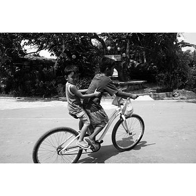 Bike Photograph - #kids #bike #youth by Jun Pinzon