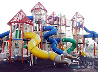 Photograph - Kids Play Ground - Series 2 by Doc Braham