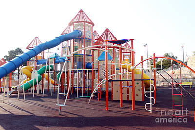 Photograph - Kids Play Ground - Series 5 by Doc Braham